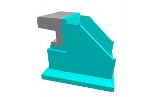 CHECK RAIL BRACKET SYSTEM ANALYSIS MODEL