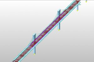 Cable stayed Braking and Traction